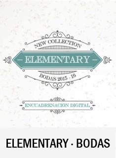 catálogo álbumes boda elemantary