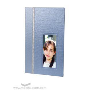 Álbum de comunión LUNA · azul
