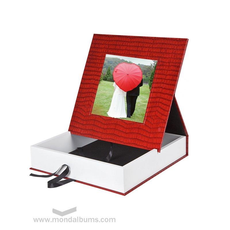 Caja porta foto