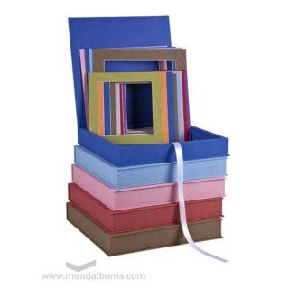 Mondecó cajas colores Paspartús