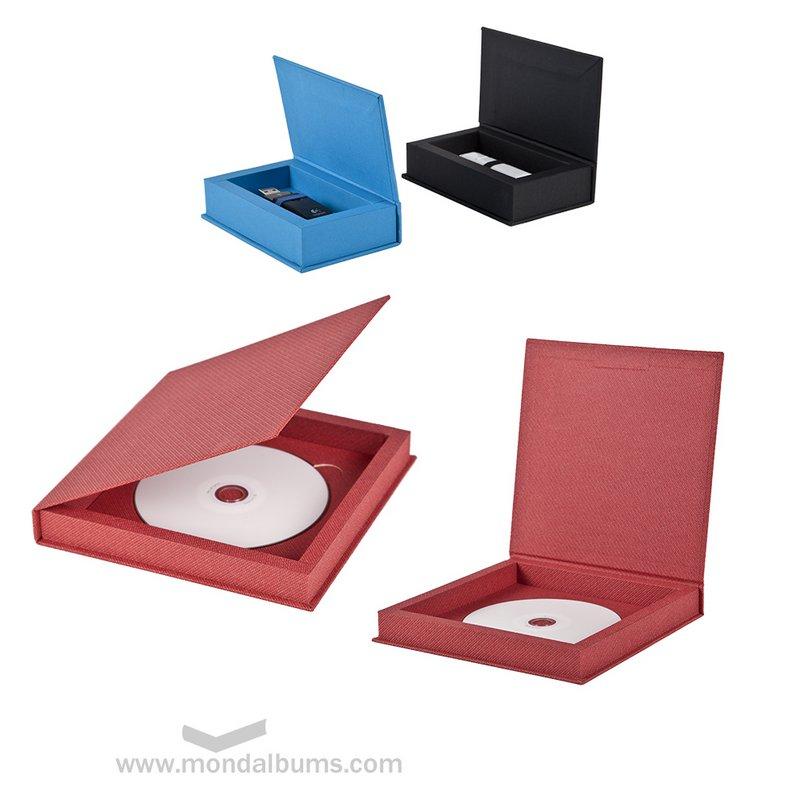 Cajas para USB y DVD
