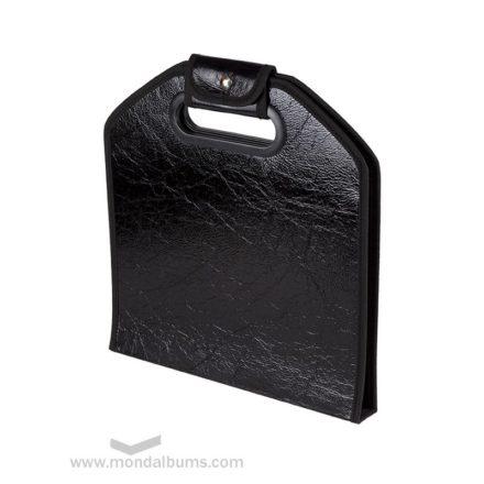 Porta-álbum charol negro
