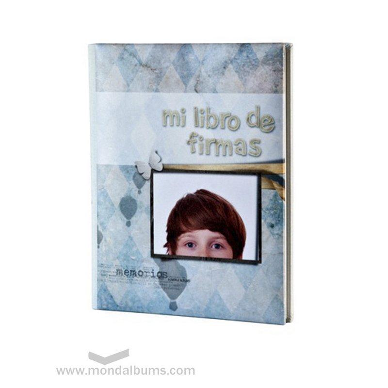 Álbum comunión niño fotos comunión promociones libro firmas niño
