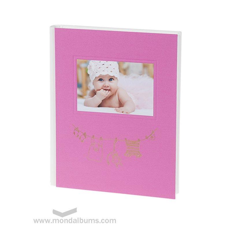 Álbum fotos bebé Tin Toy l16.934 fucsia