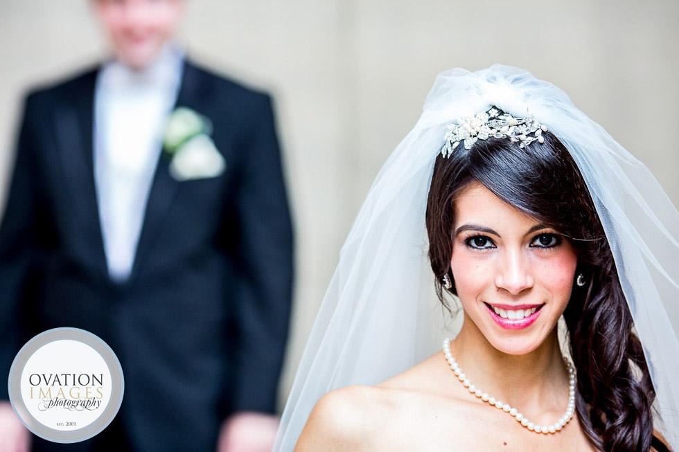 Poses para fotos de boda desenfoque
