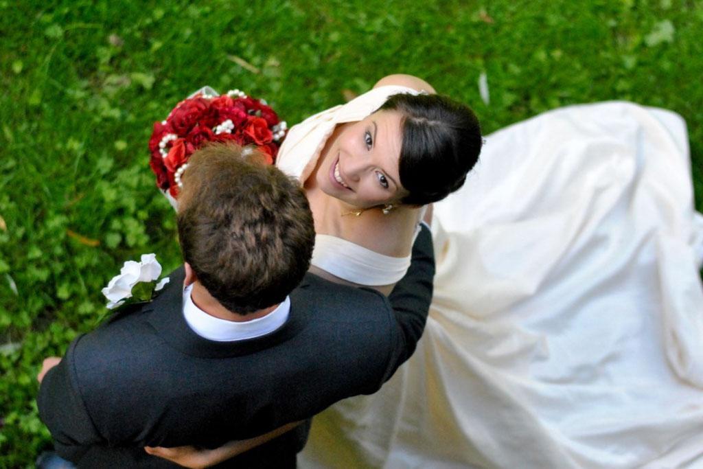Poses para fotos de boda punto mas alto