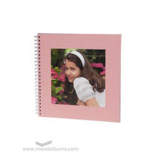 Álbum de fotos espiral onil rosa