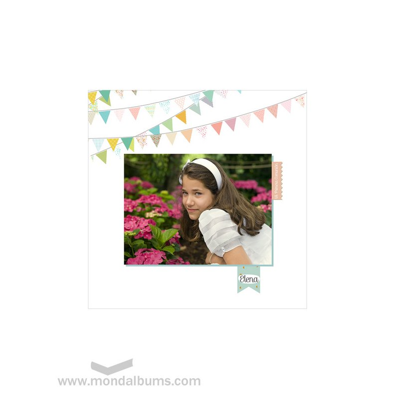 Albúm fotos tapa con personalizada mod. 41