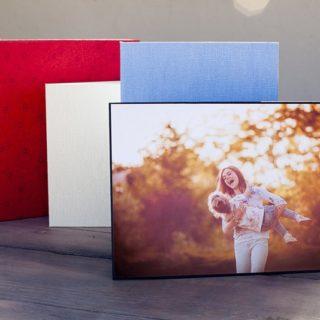 Portafoto-Fino y Carpetas canvas varios colores