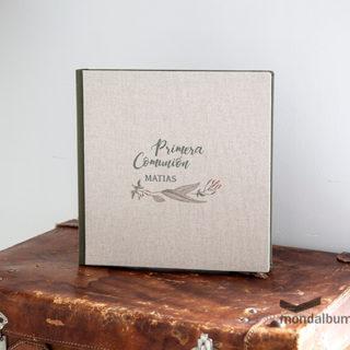 álbum de comunión nenúfar