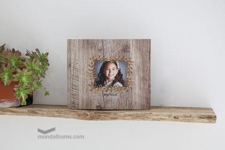 Álbum de comunión hibiscus