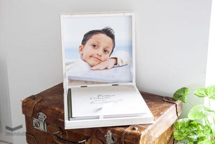 caja porta fotos carpio