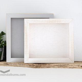 caja porta fotos cuadro