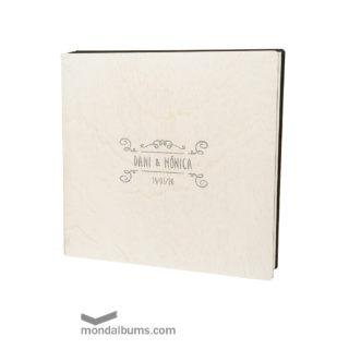caja porta fotos boda