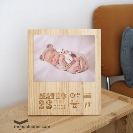 tabla foto natalicio vertical