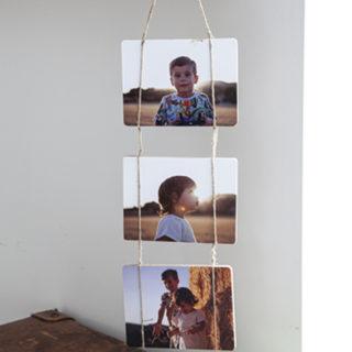 tabla para colgar fotos